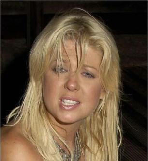 Tara Reid should not post on Facebook or try to write a real book. Image via cracked.com.