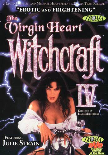 "To be honest, we chose this over Witchcraft III because of the motorcycle on the cover. I think we may have actually said, ""Whooooa, a motorcycle!"""