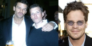 Craig Sheffer David Boreanaz and Colin Berry