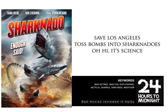 save los angeles / toss bombs into sharknadoes / oh hi, it's science